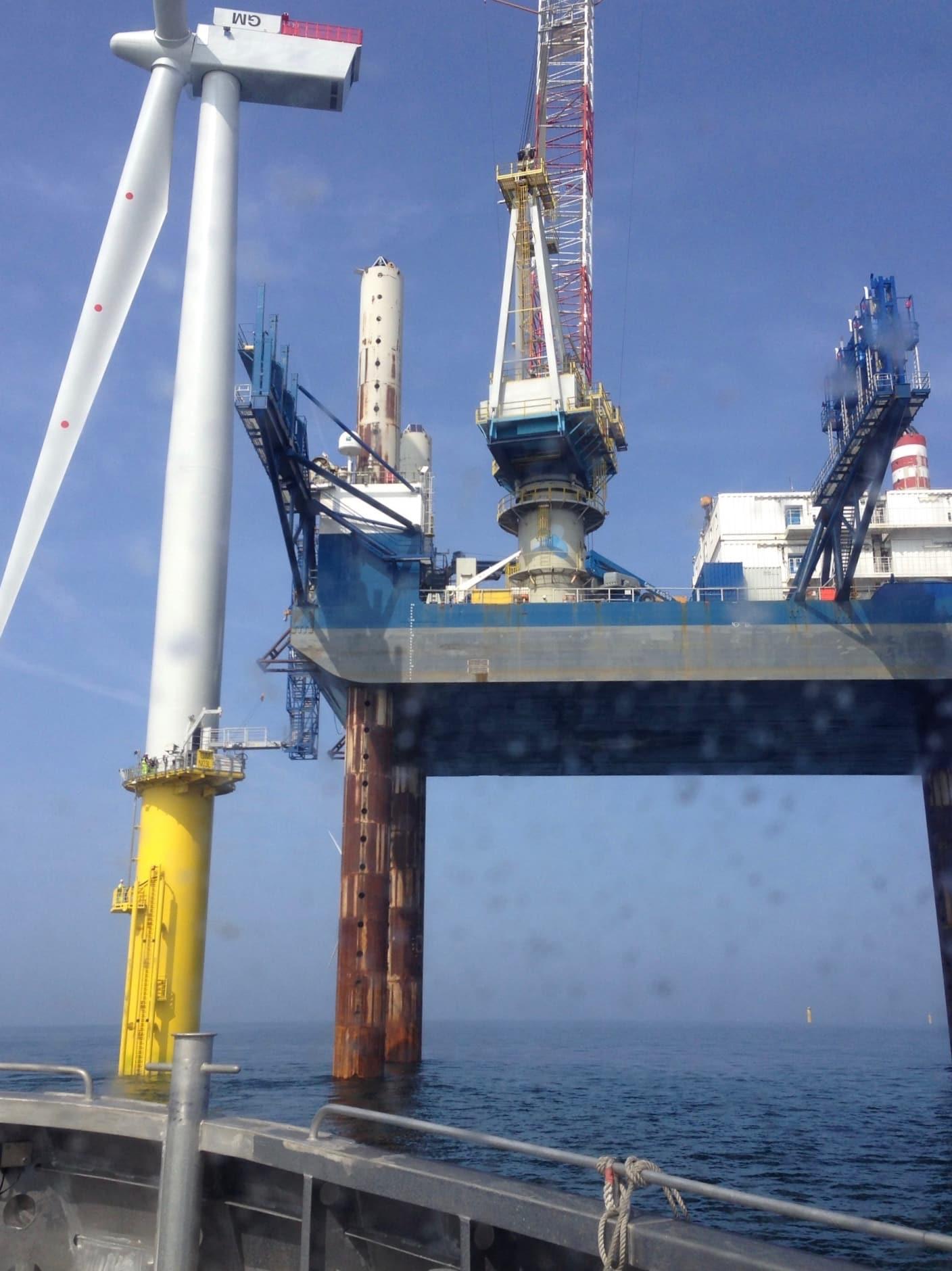 Windfarm installation