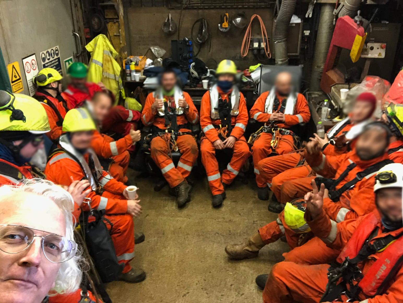 North Sea; decommissioning