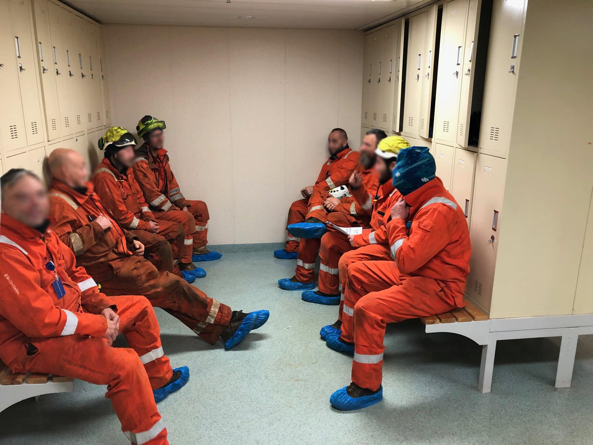 North Sea; Training