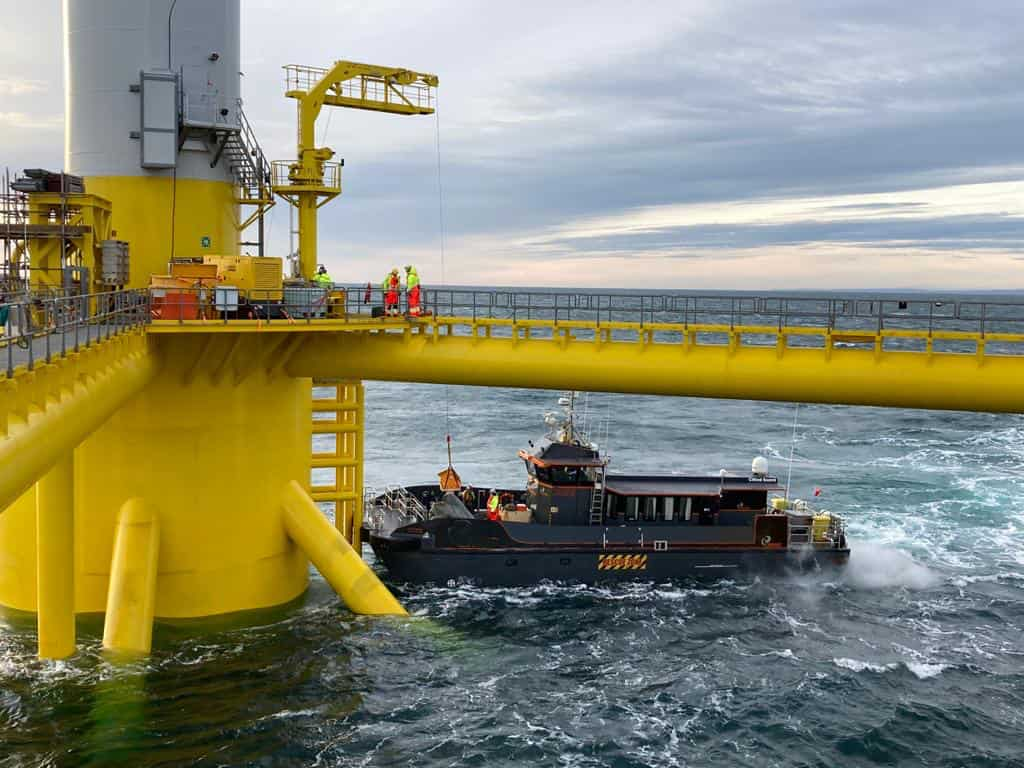 Floating wind & CTV